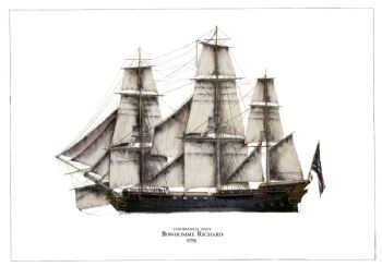 Continental Navy Bonhomme Richard 1779